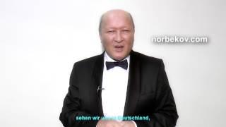 Mirsakarim Norbekov kündigt Besuch in München an