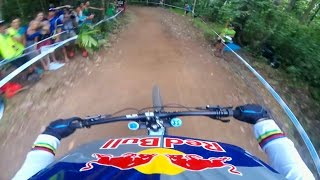 ► Watch UCI MTB's Fastest Riders Compete on Red Bull TV: http://win.gs/UCI2016Cairns The lush rainforest of Cairns made for a wet and wild weekend of downhil...