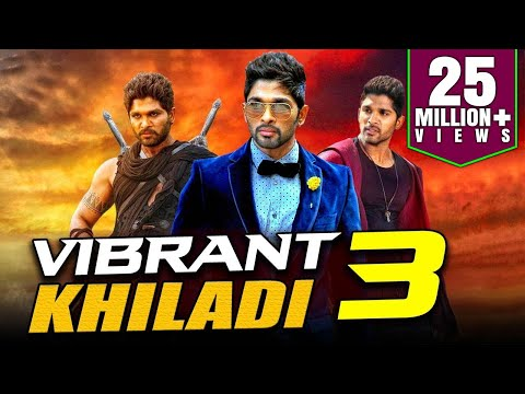 Vibrant Khiladi 3 2019 Telugu Hindi Dubbed Full Movie | Allu Arjun, Anushka Shetty, Manoj Manchu