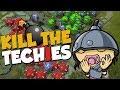 Kill The Techies!   Dota 2 Funny Moments + Arcana Giveaway!