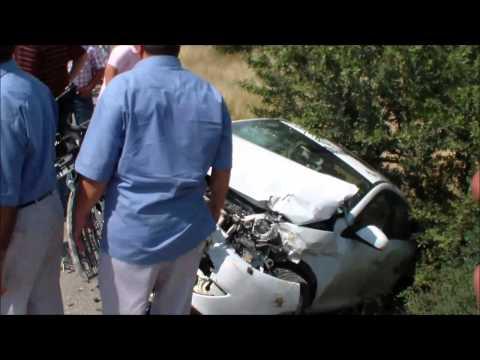 Hasan Kökten'in aracı kaza yaptı 1 ölü face 5 yaralı
