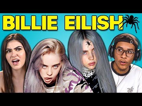 TEENS REACT TO BILLIE EILISH (видео)