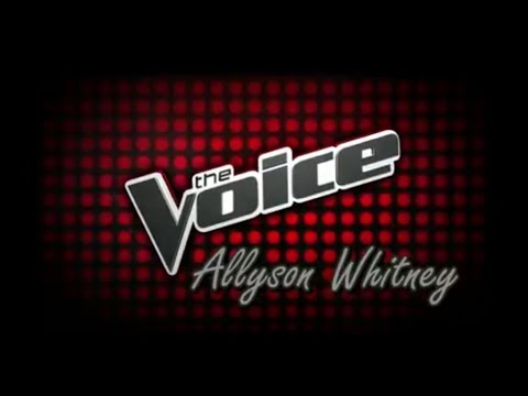 My Video Audition - The Voice 2017
