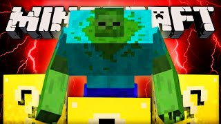Minecraft Lucky Block - MUTANT ZOMBIE (Challenge)! - (Luck Block Mod Battle)