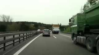 Saint Gallen Switzerland  city images : Driving from St. Gallen to Zürich/ Switzerland/ 04.2014/ FullHD