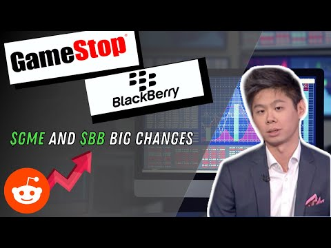 When will GameStop $GME and BlackBerry $BB Come Crashing Down?