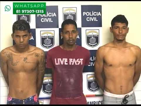 [JORNAL DA TRIBUNA] Polícia prende bandidos que assaltaram turistas no Litoral Sul de Pernambuco