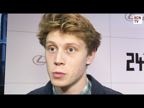 George MacKay Interview - Marrowbone & Where Hands Touch