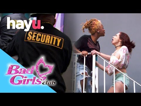 Security Intervenes In House Fight | Bad Girls Club