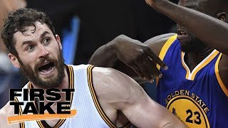 Draymond Green Will Play Head Games With Kevin Love | First Take | May 29, 2017