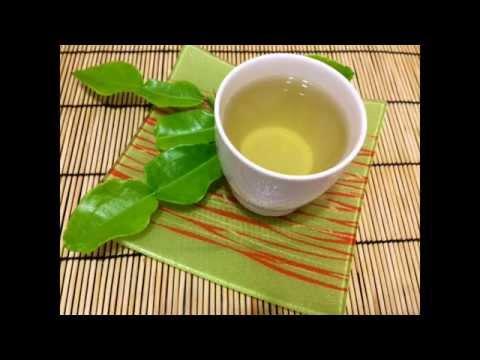 Kaffir Lime Leaves & Lemongrass Tea Recipes. ชามะกรูดตะไคร้ลดความดัน