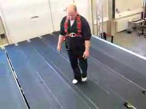 CyberWalk OmniDirectional Treadmill virtual step for