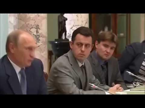 ПРИКОЛ Прямая Линия 2017 с Путиным Сломался Интеллект вместе с Наушником в Ухе и Микрофон Суфлера - DomaVideo.Ru