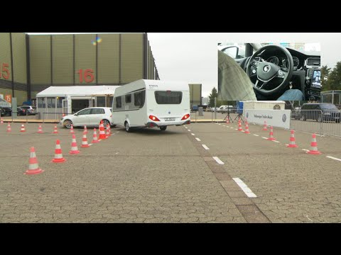 Practical Caravan tests Volkswagen's Trailer Assist