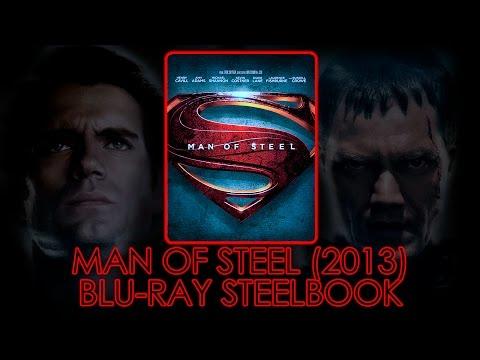 Man of Steel (2013) Blu-ray Steelbook | Henry Cavil | Zack Snyder | Amy Adams | Superman | Unboxing