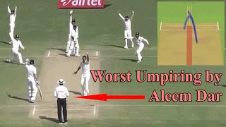 Worst Umpiring decisions in Cricket History by Aleem Dar: Thanks for watching the video, please like the video and don't forget to subscribe the channel. Entertainment Activity- Just for Fun!