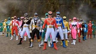 Show demais este episódio onde todos os Rangers lutam juntos.