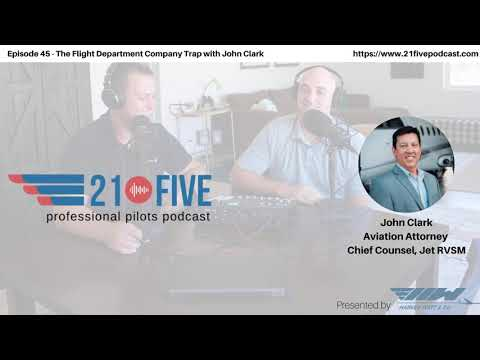 45. The Flight Department Company Trap with John Clark