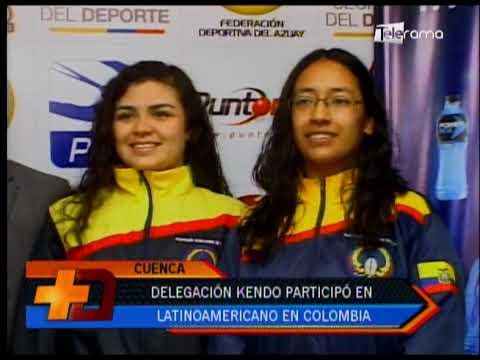 Delegación Kendo participó en latinoamericano en Colombia