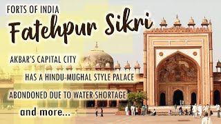 Fatehpur Sikri India  city images : Forts Of India - Fatehpur Sikri - Ep # 7