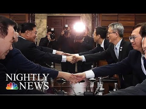 Inside North Korea as it prepares for the Olympics | NBC Nightly News
