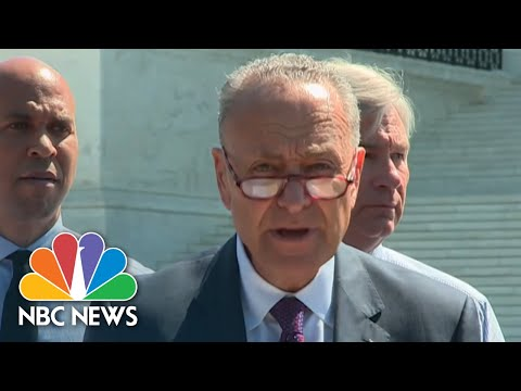 Democratic Senators React To Brett Kavanaugh Nomination | NBC News