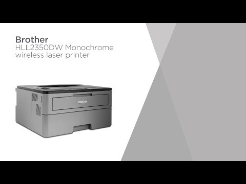 Brother HLL2350DW Monochrome Wireless Laser Printer   Product Overview   Currys PC World