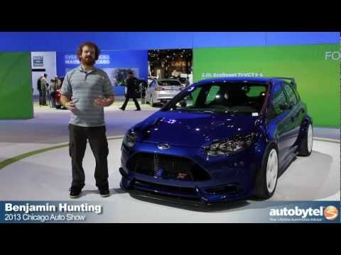 fifteen52 Project ST Focus TrackSTer &  Fiesta ST Global RallyCross Car At The 2013 Chicago Auto Show