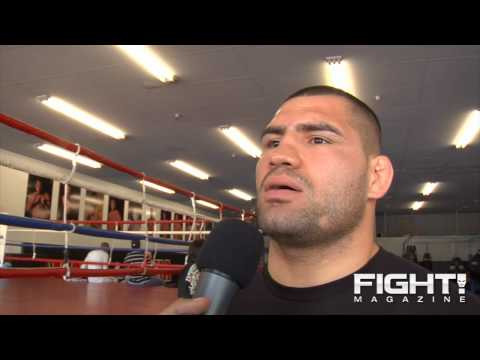 Cain Velasquez Lesnar Has Heart of a True Champion