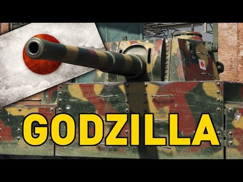 World of Tanks || It's GODZILLA