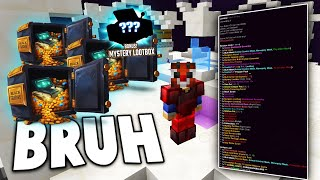 MASSIVE LOOTBOX AND CC OPENING (Minecraft Factions)