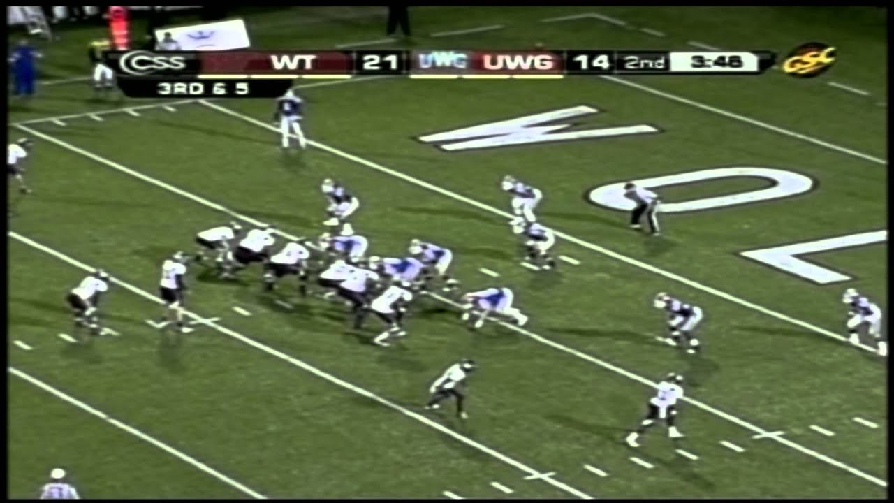 Dustin Vaughan vs West Georgia (2012)