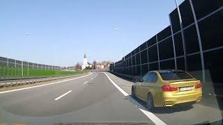 Jedziesz sobie spokojnie, a tu zabójca/samobójca w BMW…