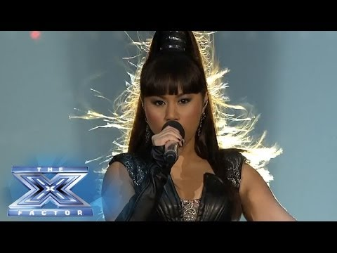 "Ellona Santiago Lives For The ""Applause"" - THE X FACTOR USA 2013"