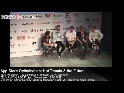 App Store Optimization: Hot Trends and the Future PANEL at CC Tel Aviv