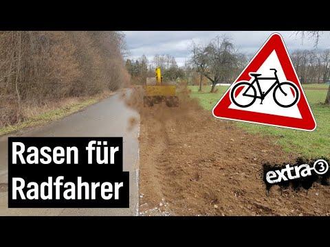 Realer Irrsinn: Verengter Radweg in Stuttgart | extra 3 Spezial: Der reale Irrsinn | NDR