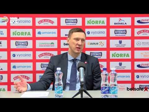 """""""Betsafe–LKL"""" rungtynių komentarai: """"Juventus"""" - """"Nevėžis"""" [2018-01-20]"""