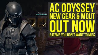 Assassin's Creed Odyssey Abstergo Elite Gear Pack OUT NOW & Amazing Weekly Items (AC Odyssey DLC)