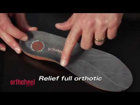 Orthaheel Relief Orthotic Insoles Review @ TheInsoleStore.com (Full Length)