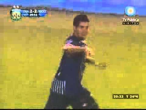 Gol de Fabricio Nuñez a Olimpo de Bahía blanca