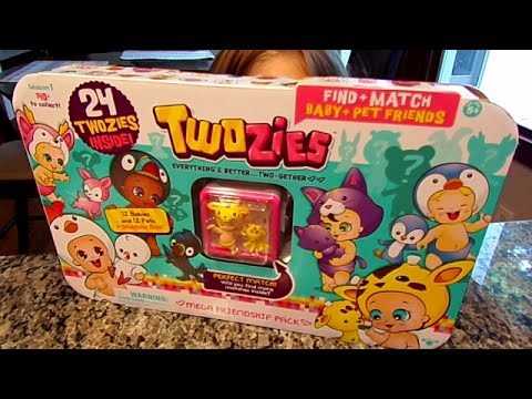 Twozies Friendship Mega Pack-Chloe's Toy Time (видео)
