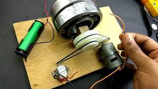 Cara membuat listrik dari dinamo bekas