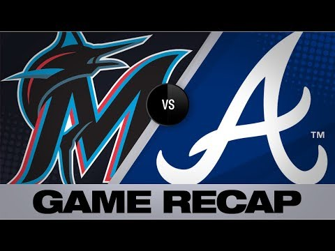 Video: McCann lifts Braves with walk-off single | Marlins-Braves Game Highlights 7/5/19