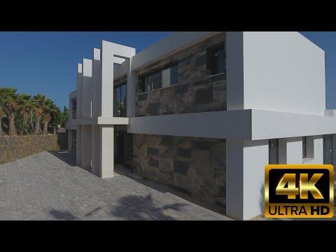 2700000€ Новые виллы в стиле Хай-Тек/Hi-Tech/в Испании на Коста Бланка/Дом премиум класса/Бенисса
