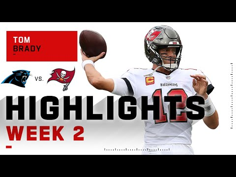 Tom Brady Tames Panthers w/ 211 Passing Yards | NFL 2020 Highlights