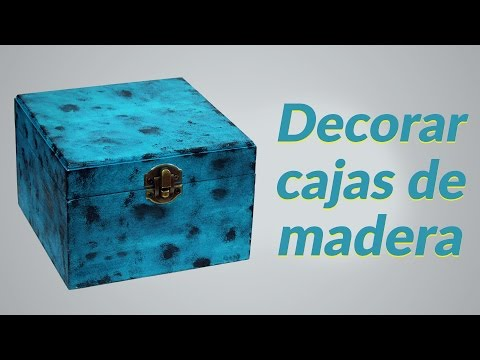 Pintar cajas de madera - Cajitas de madera para decorar ...