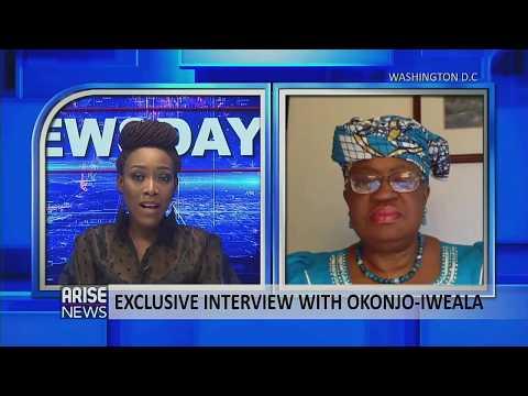 ARISE News Exclusive Interview with Dr. Ngozi Okonjo Iweala