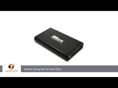iMicro IMBS35G-BK 3.5 inch USB2.0-SATA&IDE External Drive Enclosure (Black) | Review/Test