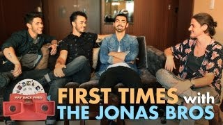 The Jonas Brothers' Embarassing First Time Stories!!   ANDPOP.com