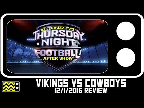 Cowboys Vs. Vikings - Thursday Night Football | AfterBuzz TV